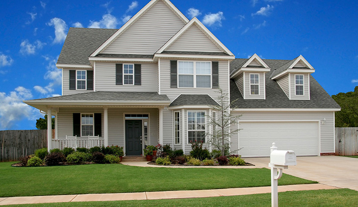 New Home in Virginia with home insurance